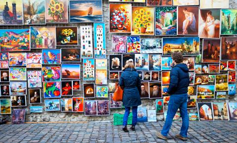 Auf polnischen Wochenmärkten findet man alles, was das Herz begehrt