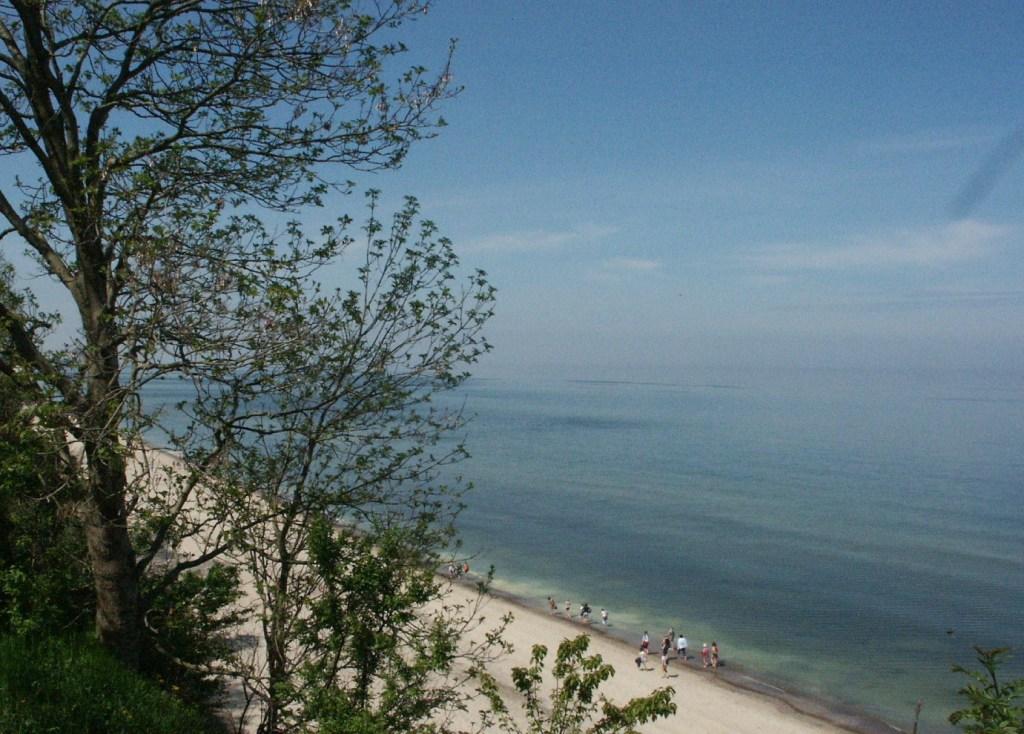 Polens Ostseeküste mit malerischen Steilküsten und weiten Sandstränden; Foto: B.Jäger-Dabek