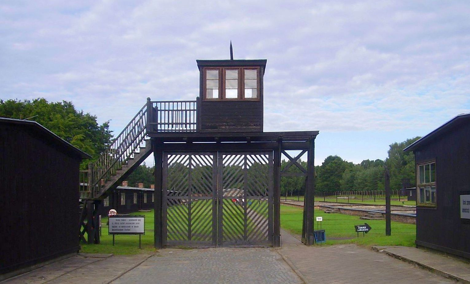 KZ Stutthof. Sztutowo bei Danzig, Foto: B.Jäger-Dabek