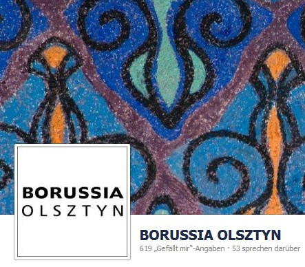 Facebook-Auftritt der Borussia Olsztyn