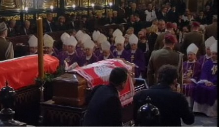 Krakauer Trauerfeier für Lech und Maria Kaczynski