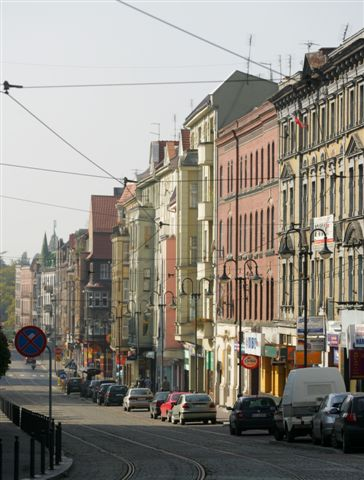 Zabrze, Wolnosci-Strasse