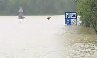 Hochwasser im Süden Polens