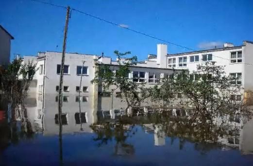 Hochwasserlage in Polen