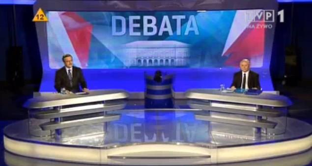 Fernsehdebatte vor polnischer Präsidentenwahl