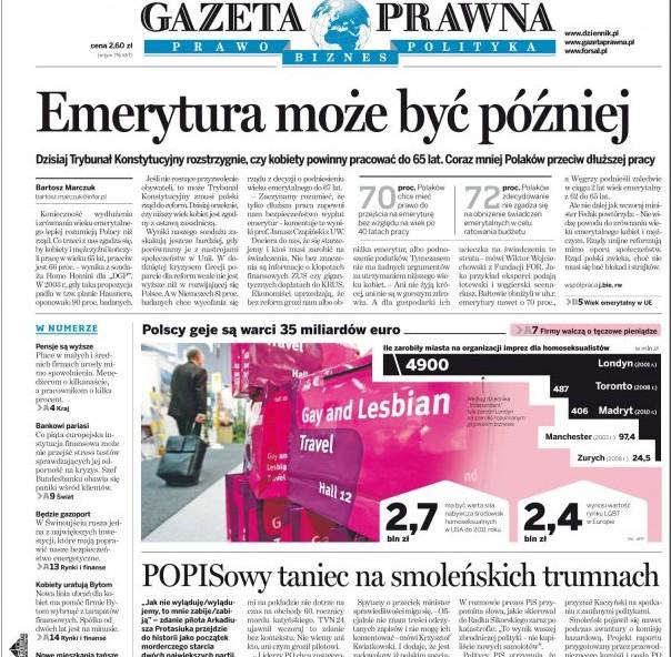 Polen entdeckt Homosexuelle als Wirtschaftsfaktor