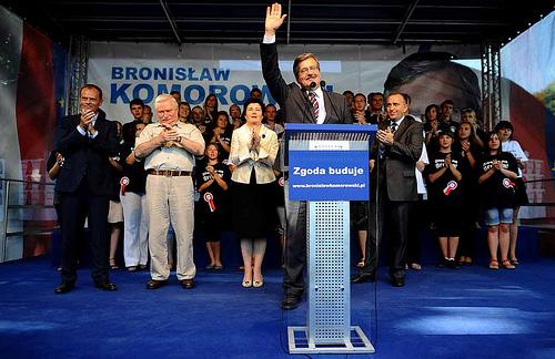 Bronislaw Komorowski zum Präsidenten Polens gewähltBronislaw Komorowski zum Präsidenten Polens gewählt