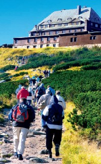 Wandern in Szklarska Poreba - Riesengebirge