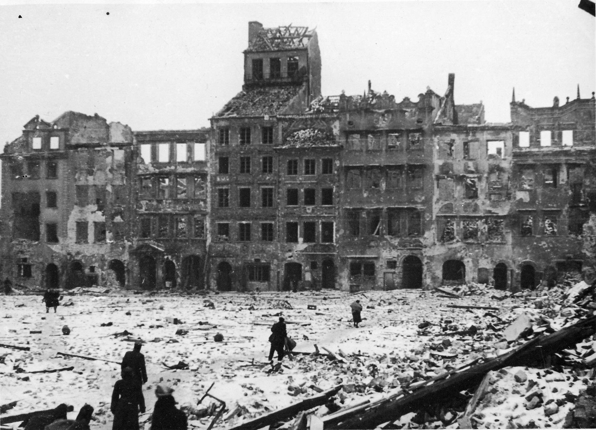 Warschau nach dem Aufstand