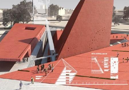 Weltkriegsmuseum Danzig, Entwurf:Kwadrat