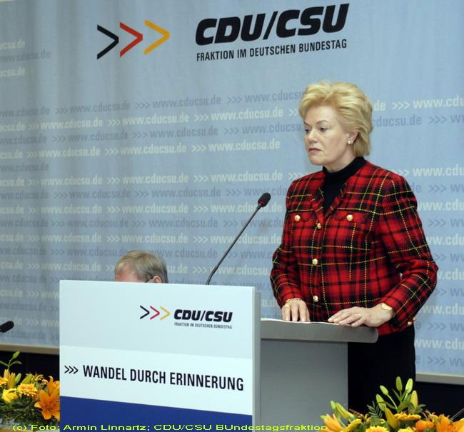 BdV-Vorsitzende Erika Steinbach