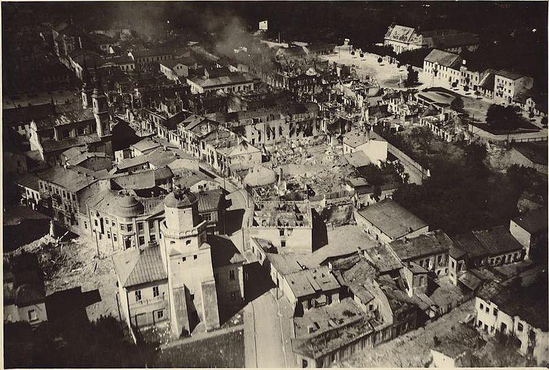 Wielun am 2. September 1939