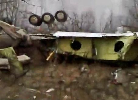 Abgestürzte Präsidentenmaschine bei Smolensk