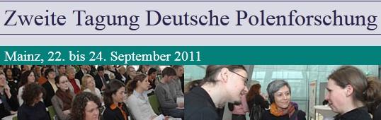 Zweite Tagung Deutsche Polenforschung