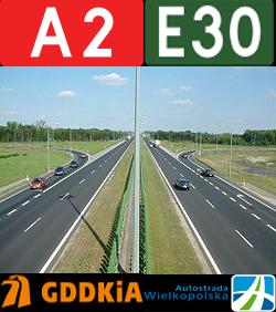 Polen Autobahn A2