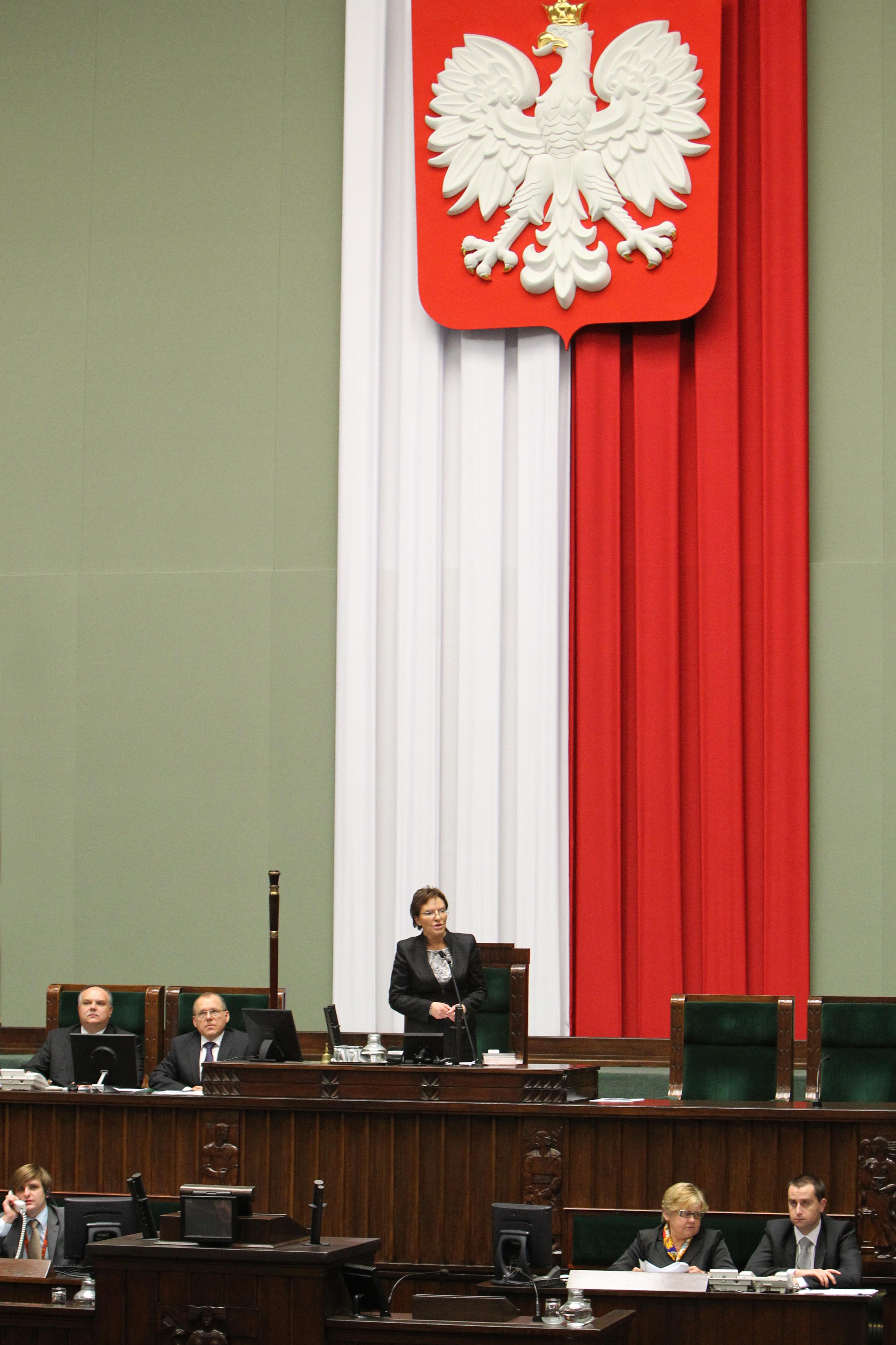 Parlamentspräsidentin Ewa Kopacz