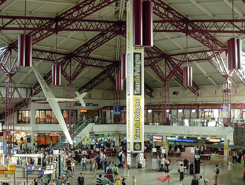 Flughafen Warschau Okecie