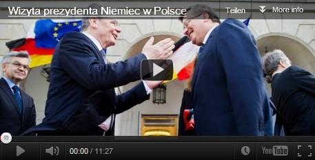 Bundespräsident Gauck trifft den polnischen Präsidenten Komorowski