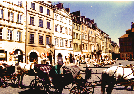 Städtereisen nach Warschau