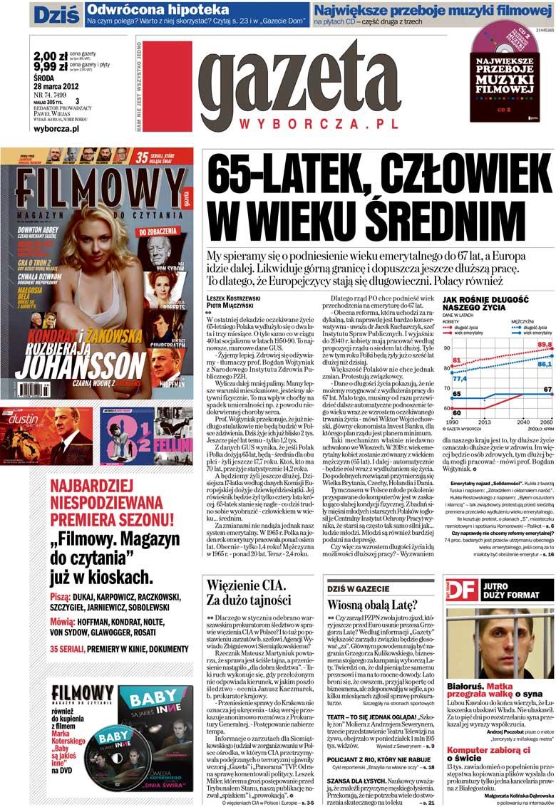 Die Rentendebatte in polnischen Medien