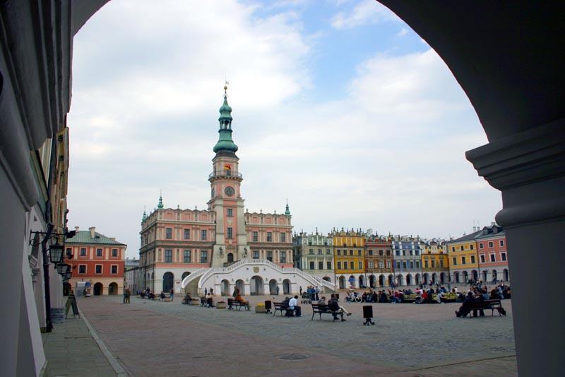Zamosc, die Renaissancestadt