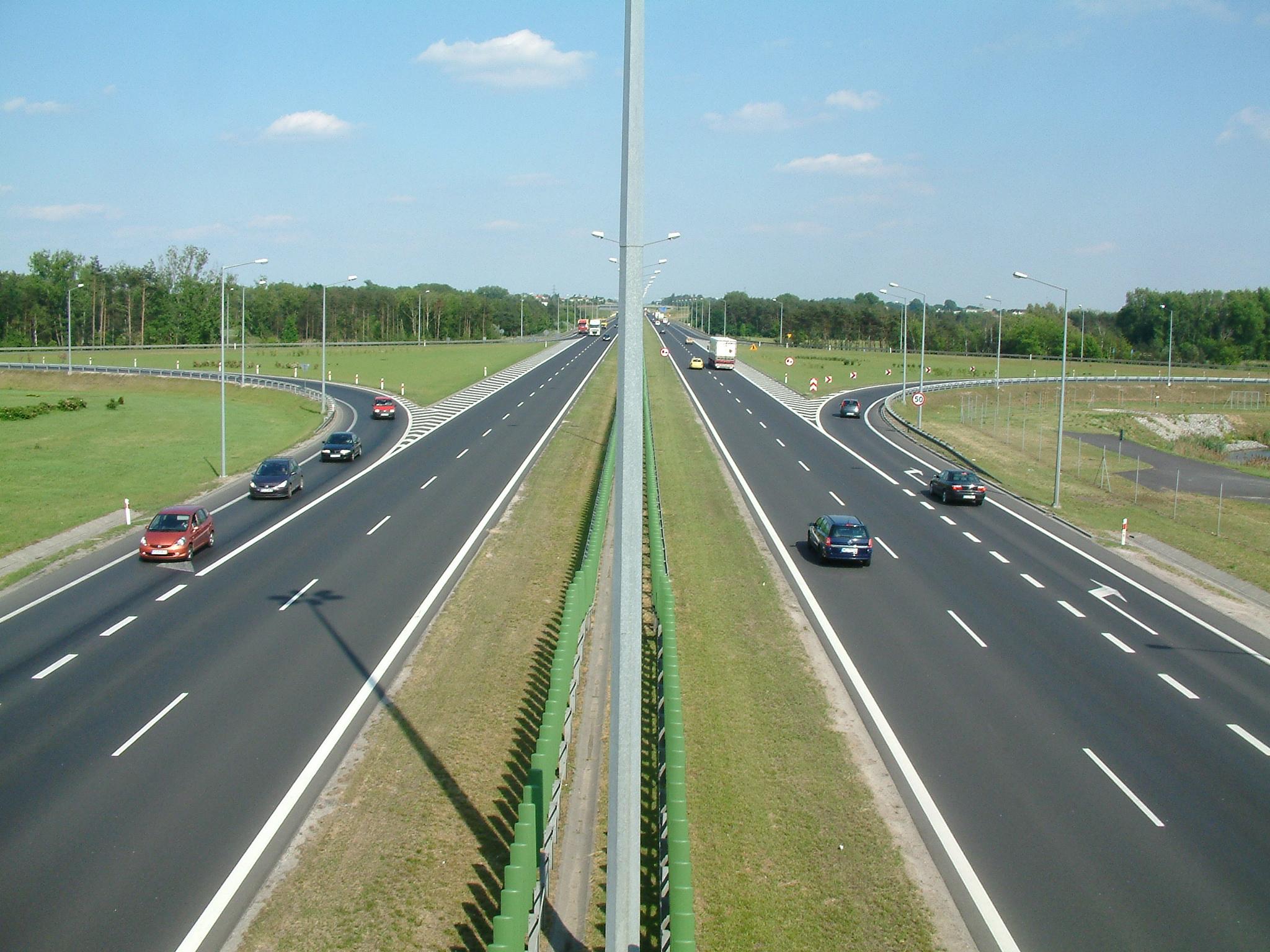 Erweiterte Mautpflicht auf Polens Autobahnen; Foto: Wikimedia, Radomil