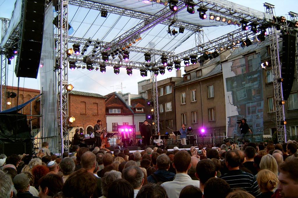 Jüdisches Kulturfestival Krakau; Foto: Rj1979, Wikimedia