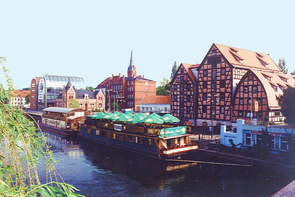 Bydgoszcz (Bromberg), die Stadt am Wasser; Foto: B. Jäger-Dabek