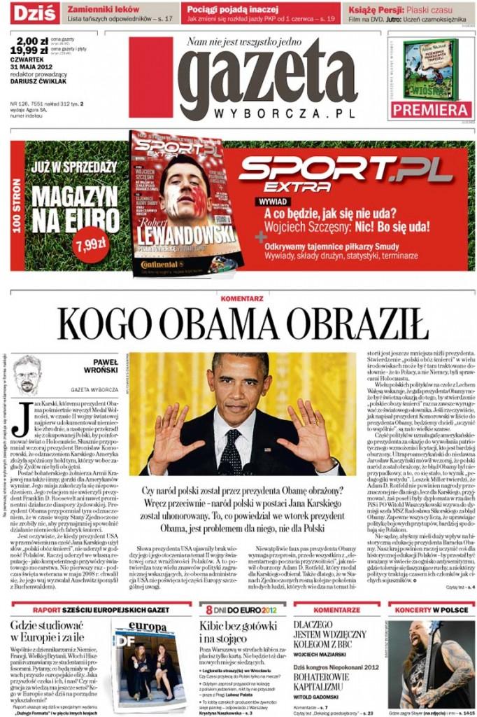 Obamas Fehler: polnische Todeslager