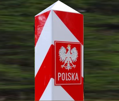 Polnisch-russische Grenze bei Bezledy, Foto: Brigitte Jäger-Dabek