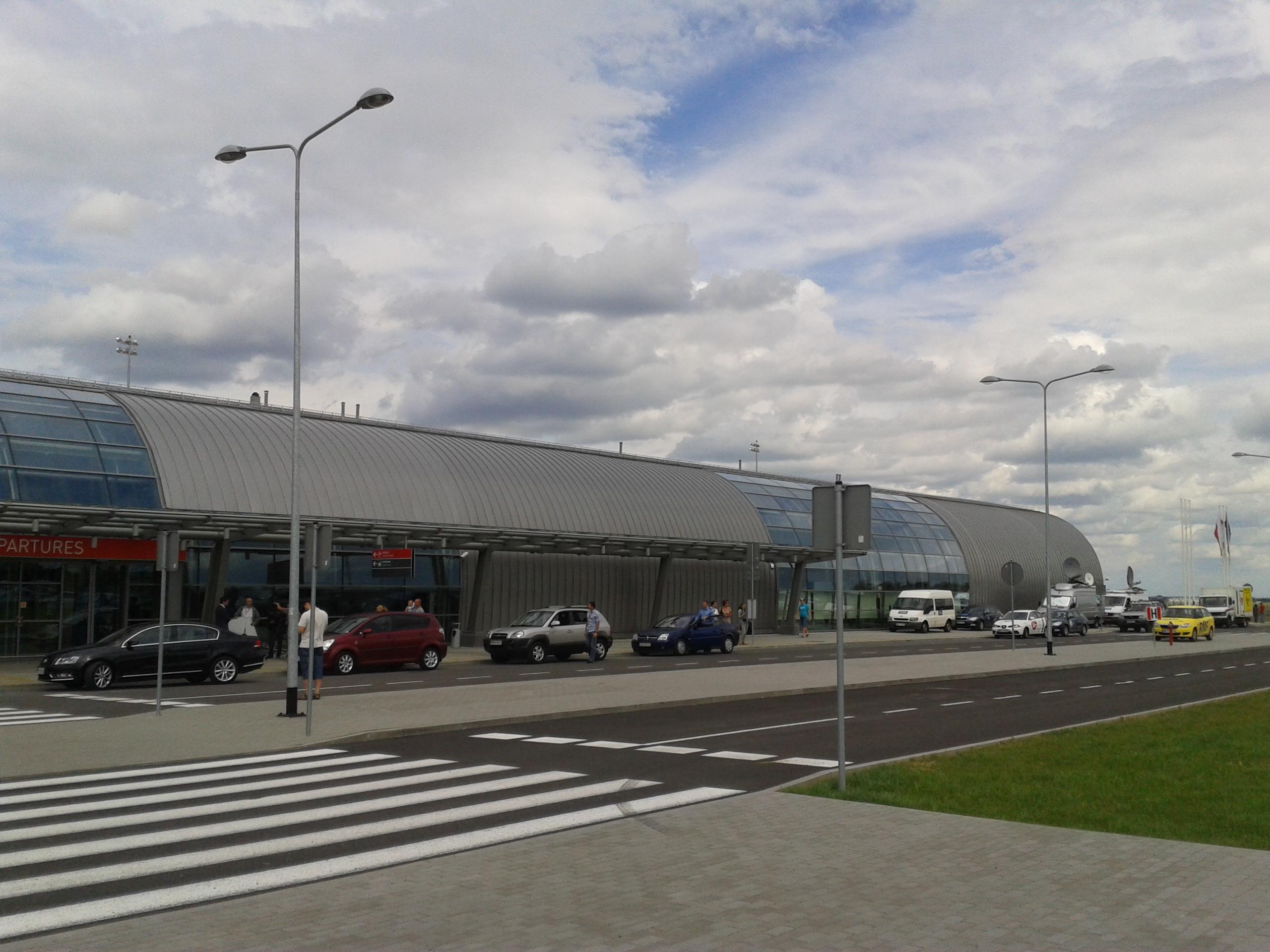 Flughafen Modlin, Foto: Hubert Smietanka
