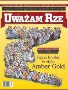 Uwazam Ze: Titelbild zur AmberGold-Affäre