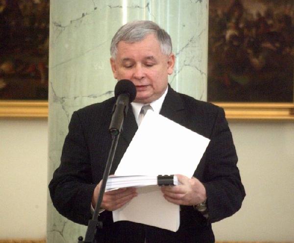 Jaroslaw Kaczynski, PiS, Foto: Archiwum Kancelarii Prezydenta RP