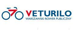 Veturilo - Leihfarräder in Warschau; Foto: Veturilo Logo, Warschawa
