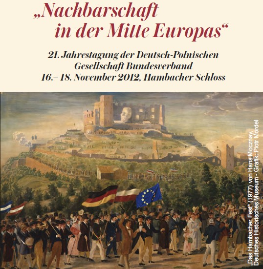 DPG-Kongress Nachbarschaft in der Mitte Europas, Plakat DPG Bundesverband