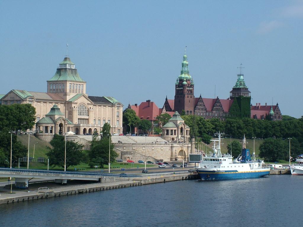 Szczecin (Stettin), Hafenstadt und Metropole im Westen von Polen, Foto: B.Jäger-Dabek