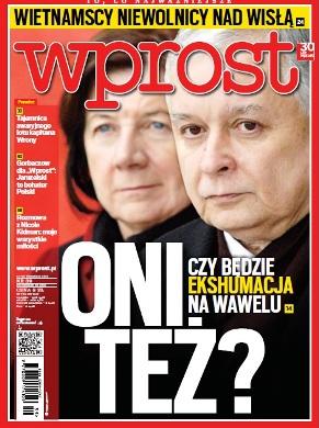 Wochenmagazin Wprost, fragt auf dem Titelbild derAusgabe 39/2012: Sie auch?