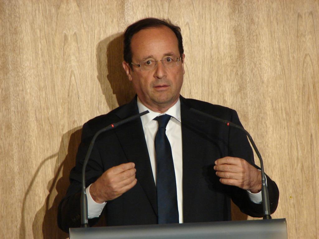 Französischer Staatspräsident Francois Hollande, Foto: Wikimedia Commons, Copyleft