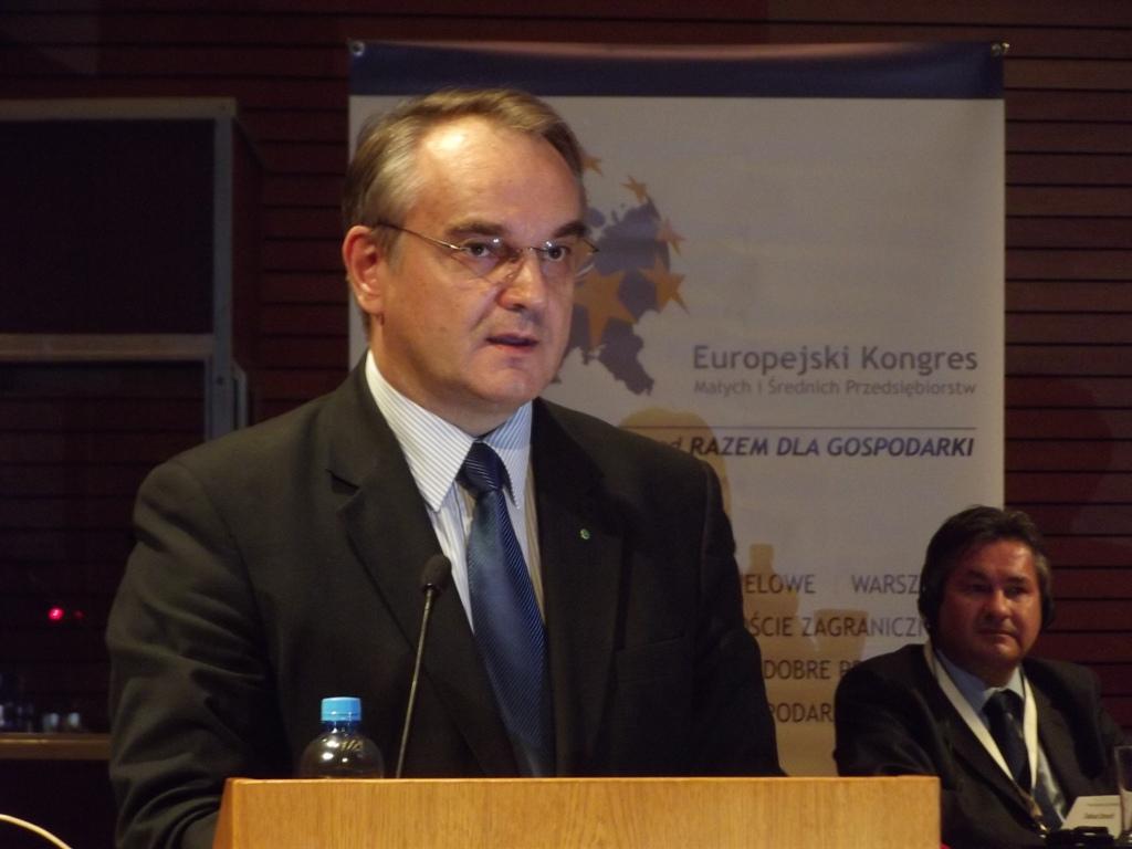 Zurückgetreten: Polens Wirtschaftsminister Waldemar Pawlak PSL, Foto: Wikimedia Commons, Piotr Drabik