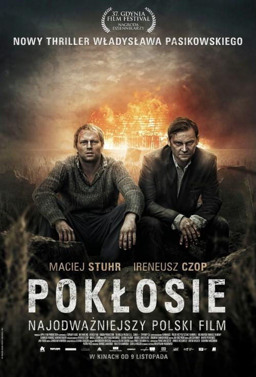 Poklosie, polnischer Film von W.Pasikowski, Filmplakat