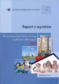 GUS-Raport, Cover des Volkszählungsberichts