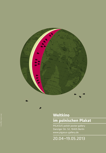 Weltkino im polnischen Plakat, Ausstellungsplakat: Joanna Gorska und Jerzy Skakun