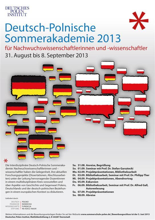 Foto: Plakat Deutsches Polen Institut, Darmstadt