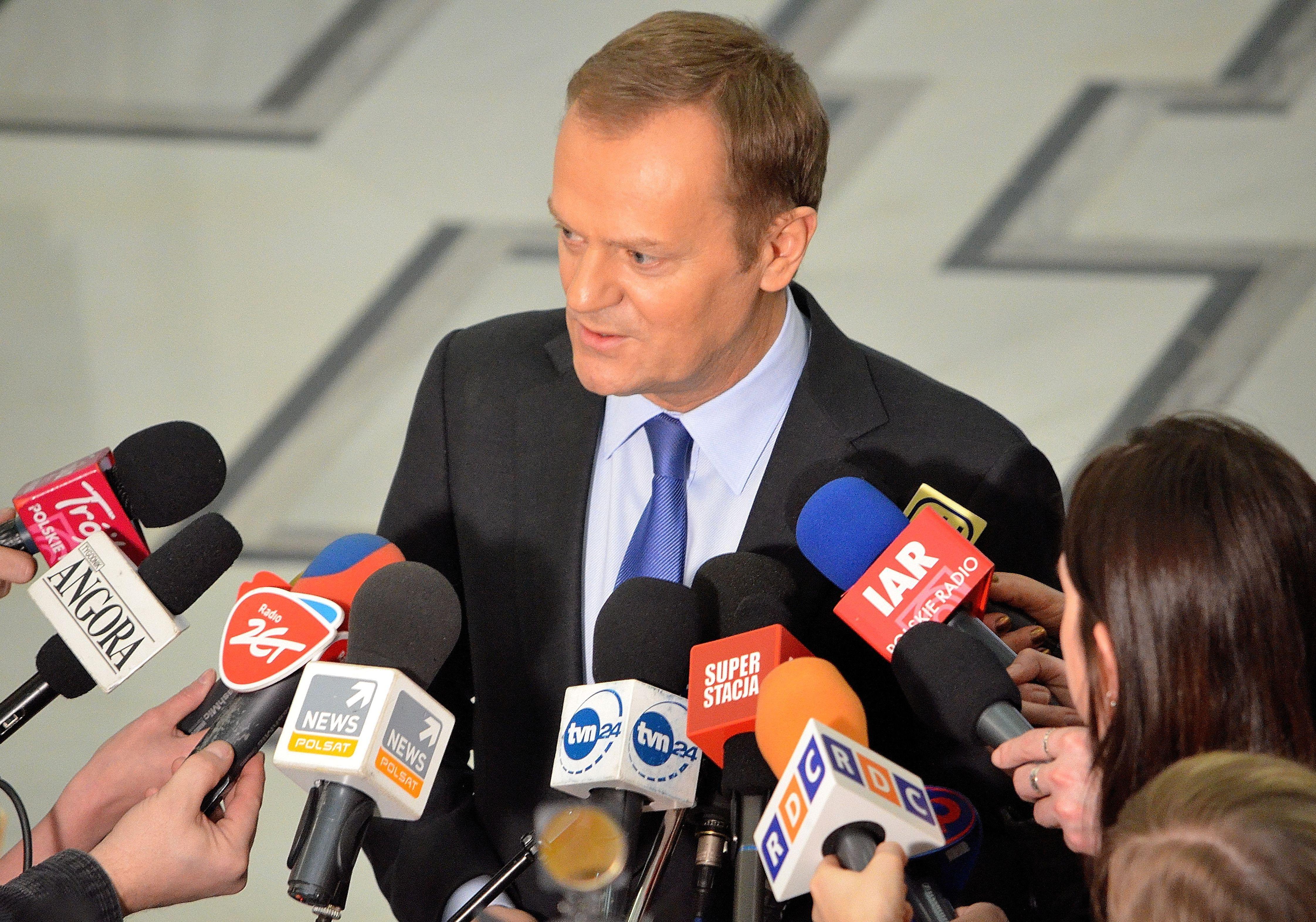 Polens Ministerpräsident Donald Tusk (PO), Foto: Boston9, CC-BY-SA-3.0