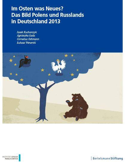 Bertelsmannstudie zum Bild der Polen und Russen in Deutschland, Cover
