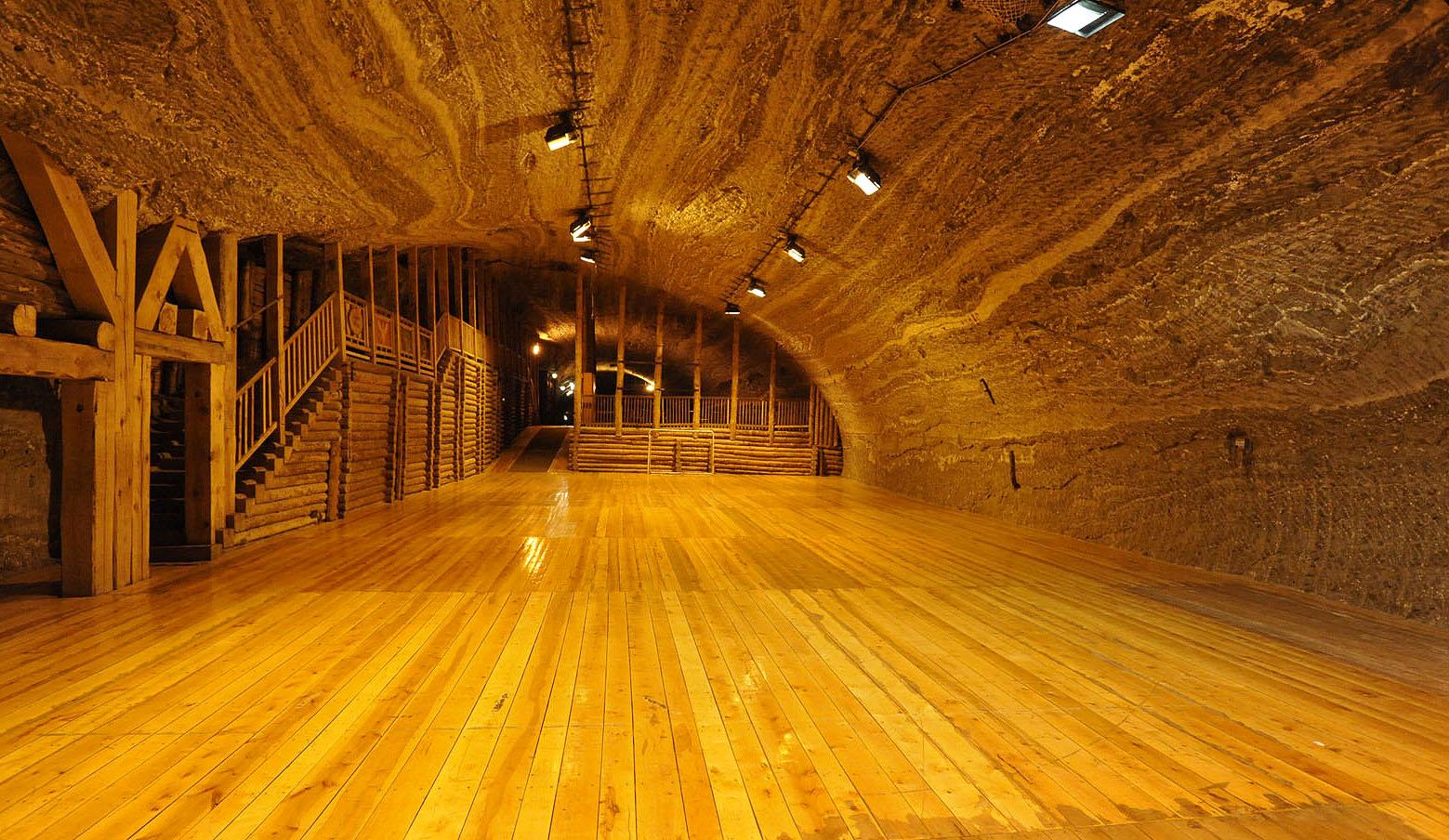 Salzbergwerk Bochnia in Polen ist UNESCO-Welterbe; Foto: Salzbergwerk Bochnia