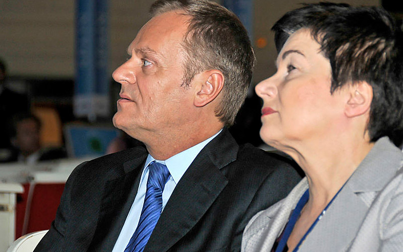 Donald Tusk und Hanna Gronkiewicz-Waltz, Foto: European Peoples Party, CC-BY-2.0