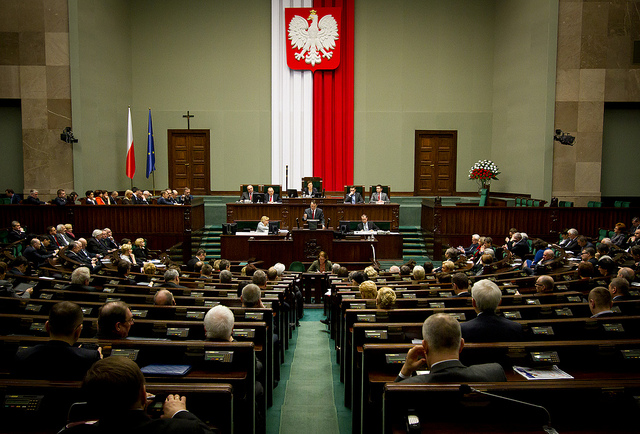 Sejm, polnisches Parlament,  Foto: PolandMFS-CC BY-ND 2.0