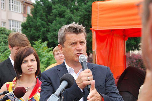"""Janusz Palikot, Gründer und Vorsitzender der Partei """"Twoj Ruch"""" in Polen Foto: Zorro2212, CC-BY-SA-3.0"""