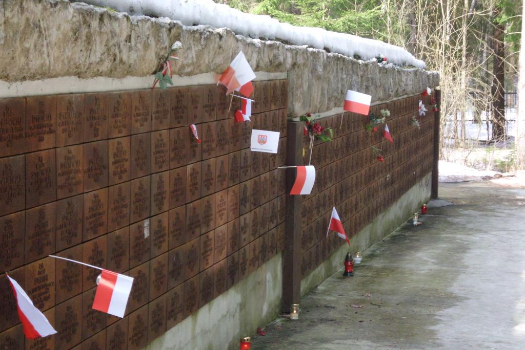 Soldatenfriedhof in Katyn, Foto: Kapsuglan, CC-BY-SA-3.0